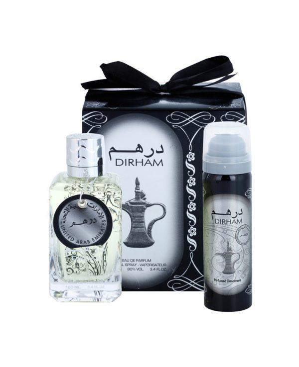 Dirham Silver Perfume Gift Set Ard Al Zaafaran 2-arabian oud perfume, arabic oudh, best arabic perfume for ladies, arabian oud perfume uk, fragrance, best arabian oud fragrance, lattafa uk