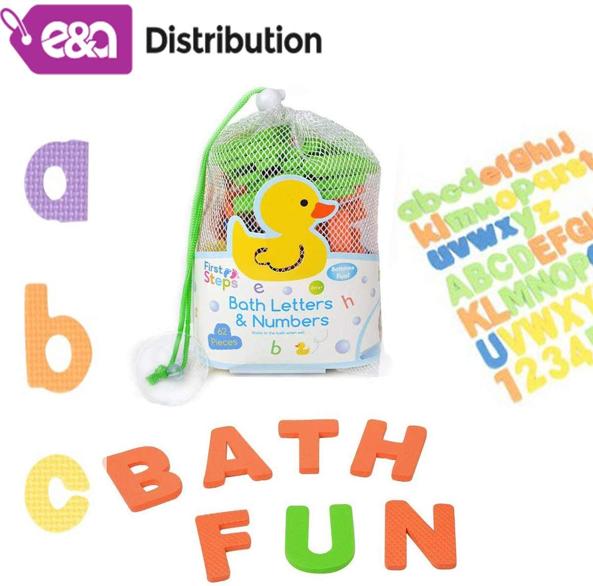 E&A Distribution Limited Baby bath magnetic foam letters ...