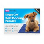 40x30cm pet cooling mat in blue