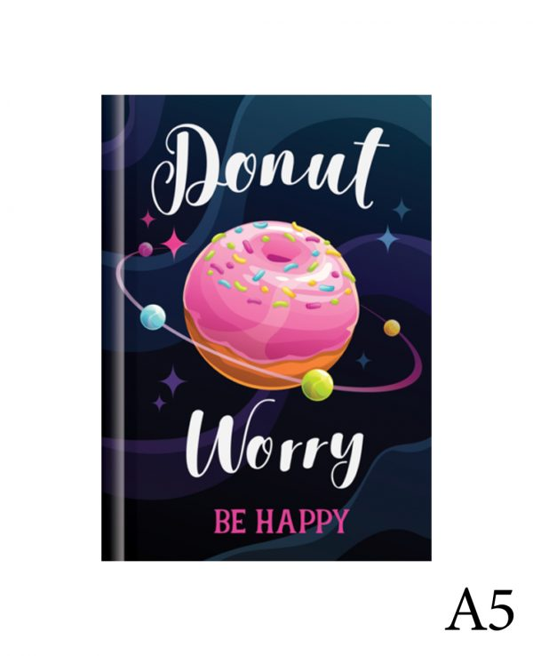 Donut a5-fashion notebook cover, hard back notebooks a4 a5 a6, beautiful notebooks journal
