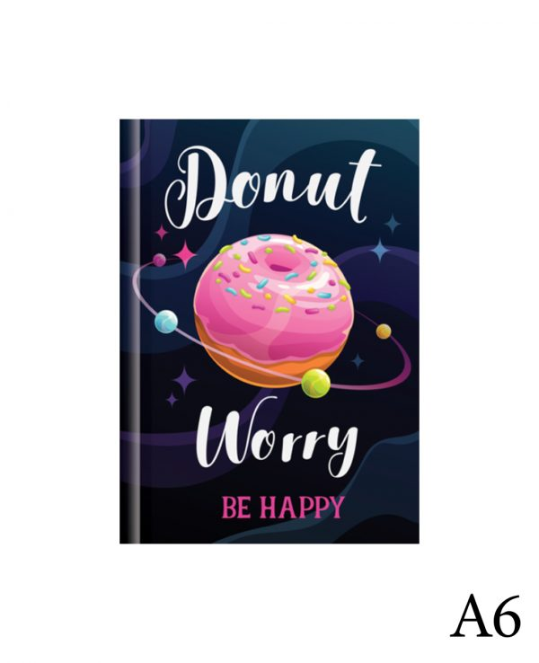 Donut a6-fashion notebook cover, hard back notebooks a4 a5 a6, beautiful notebooks journal