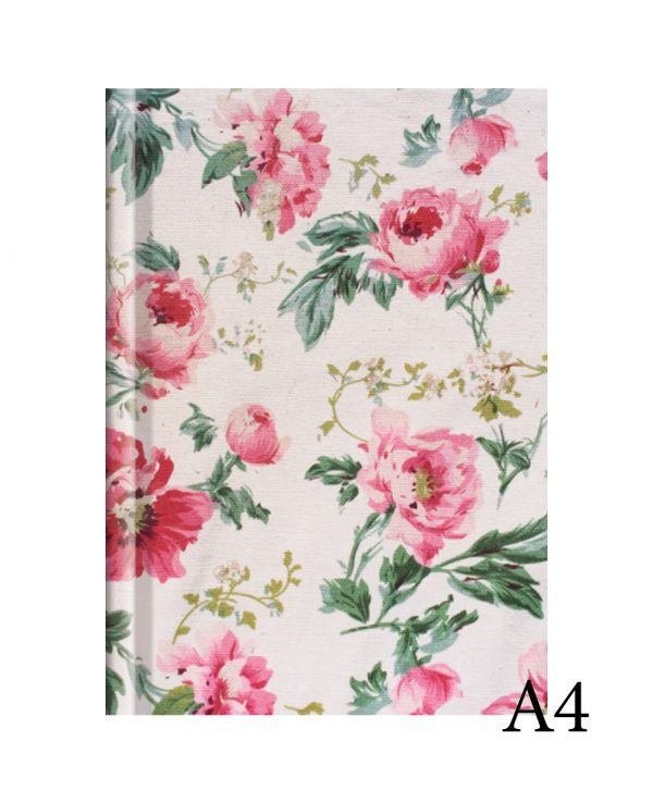 Floral a4fashion notebook cover, hard back notebooks a4 a5 a6, beautiful notebooks journal