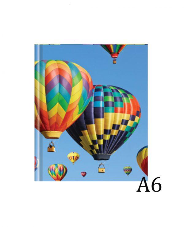 a6 balloon hardback notebook notebooks