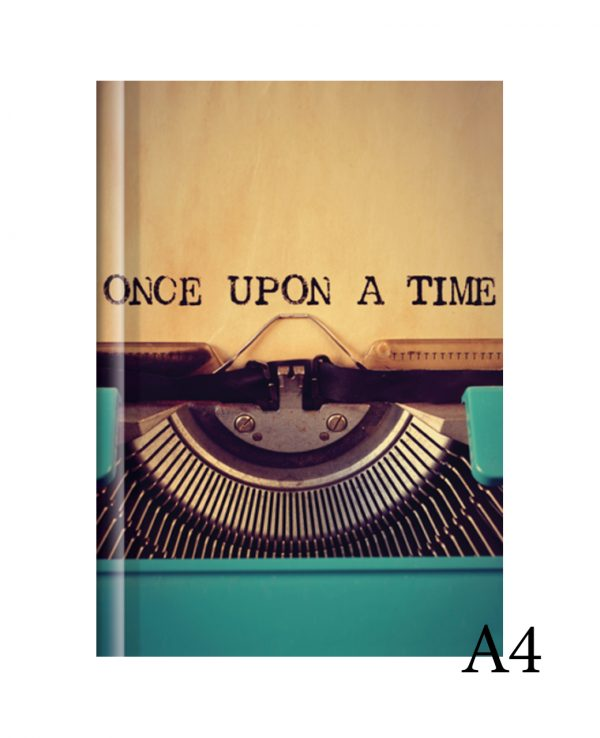 once upon a time a4-fashion notebook cover, hard back notebooks a4 a5 a6, beautiful notebooks journal