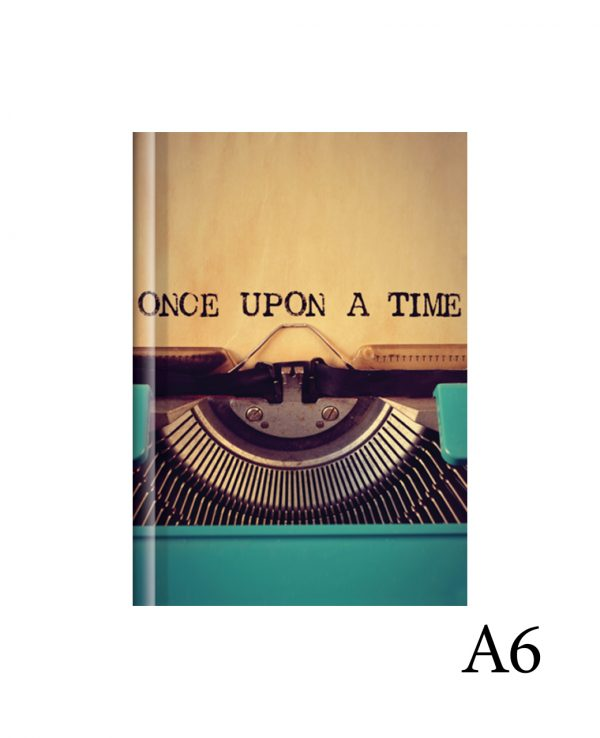once upon a time a6-fashion notebook cover, hard back notebooks a4 a5 a6, beautiful notebooks journal