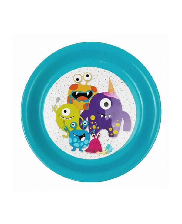 Boys Blue Plastic Dinner Set, Children's Plastic Dinner Set, Kids plastic dinner set, childrens dinner set asda argos tesco 3