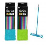 Green Blue microfibre microfiber mop, extendable microfibre microfiber mop, microfibre mop for laminate floor, wooden floor, tile floor 2