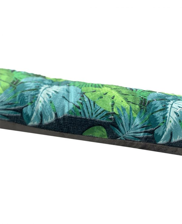 Jungle Velvet Cushion Draught Door Excluder-funky draught excluder, velvet draught excluder, draught excluder cushion
