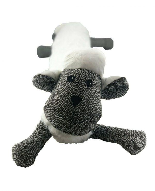 White Sheep Herringbone Door Draught excluder-animal door draught excluder, funky draught excluders, sausage dog draught excluder, sausage dog draught excluder sewing pattern 4
