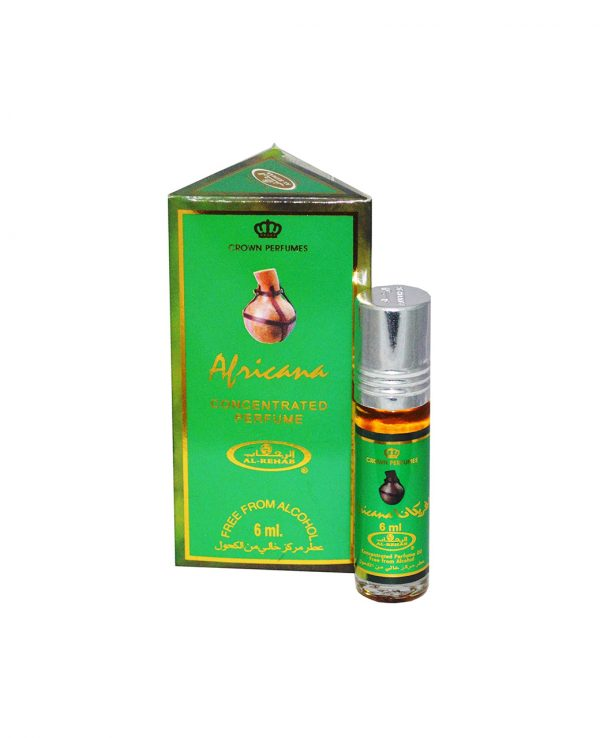 Africana perfume oil 6ml roll on attar al rehab-al rehab concentrated perfume oil, best attar perfume oil, al-rehab crown roll on attar perfume oil, best arabic perfume oil