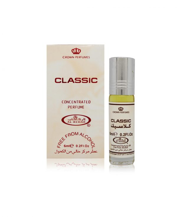 Classic perfume oil 6ml roll on attar al rehab-al rehab concentrated perfume oil, best attar perfume oil, al-rehab crown roll on attar perfume oil, best arabic perfume oil