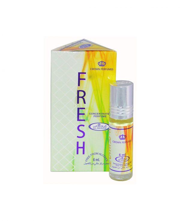 Fresh perfume oil 6ml roll on attar al rehab-al rehab concentrated perfume oil, best attar perfume oil, al-rehab crown roll on attar perfume oil, best arabic perfume oil
