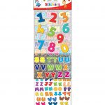 Kids education assorted stickers- children's stickers personalised, children's assorted stickers , children's education stickers, glitter stickers