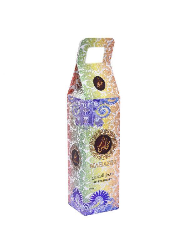 Mahasin Gold Water Based Room Spray -arabic room spray, arabian oud room spray, oud home spray,water based room spray, room spray formulation, islamic air freshener, arabian oud air freshener 3