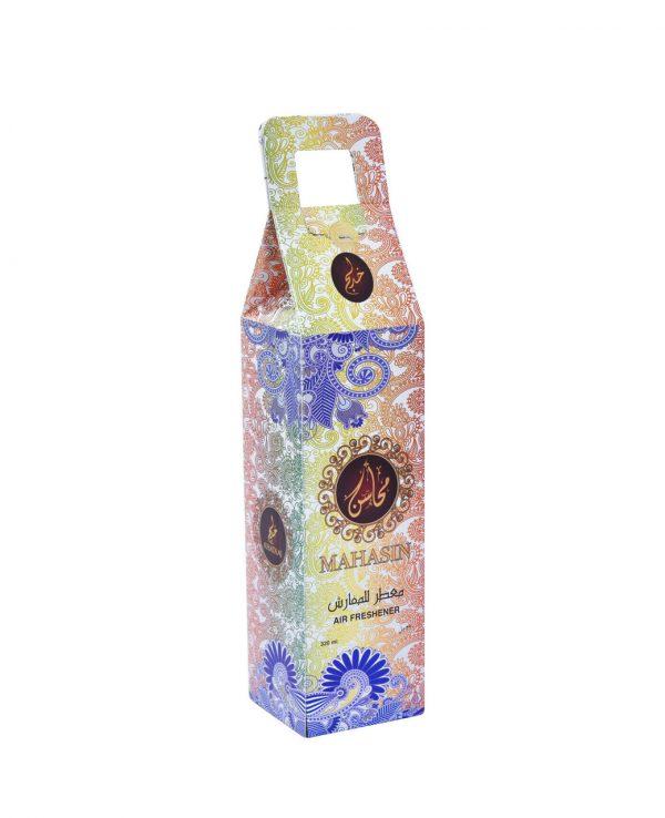 Mahasin Gold Water Based Room Spray -arabic room spray, arabian oud room spray, oud home spray,water based room spray, room spray formulation, islamic air freshener, arabian oud air freshener 4