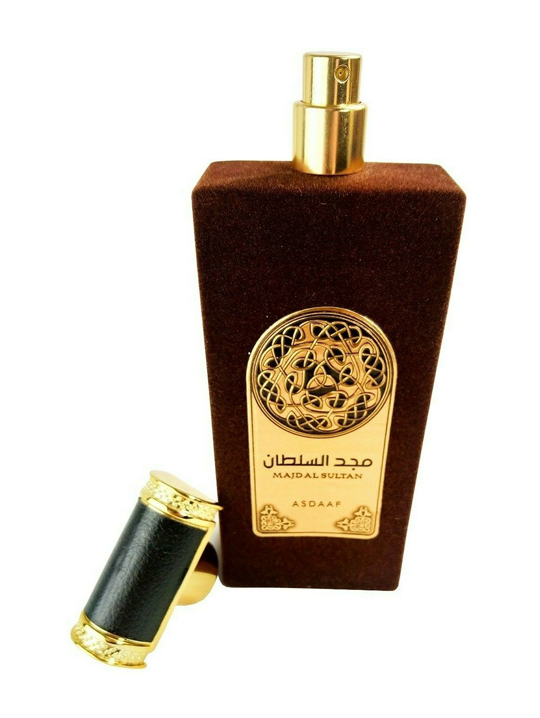 Majd Al Sultan Asdaaf Lattafa 4-arabian oud perfume, arabic oudh, best arabic perfume for ladies, arabian oud perfume uk, fragrance, best arabian oud fragrance lattafa uk