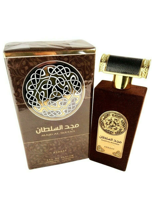 Majd Al Sultan Asdaaf Lattafa-arabian oud perfume, arabic oudh, best arabic perfume for ladies, arabian oud perfume uk, fragrance, best arabian oud fragrance lattafa uk