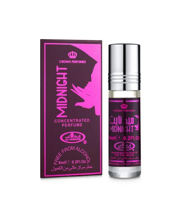 Midnight perfume oil 6ml roll on attar al rehab-al rehab concentrated perfume oil, best attar perfume oil, al-rehab crown roll on attar perfume oil, best arabic perfume oil