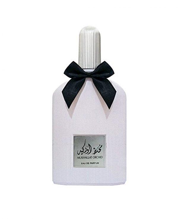 Mukhallat Orchid 2-arabian oud perfume, arabic oudh, best arabic perfume for ladies, arabian oud perfume uk, fragrance, best arabian oud fragrance lattafa uk