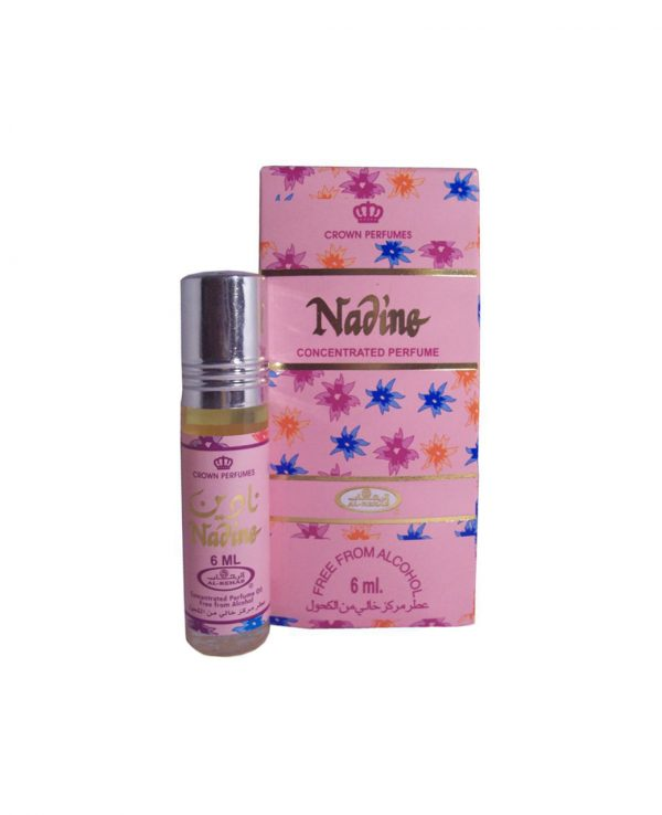 Nadine perfume oil 6ml roll on attar al rehab-al rehab concentrated perfume oil, best attar perfume oil, al-rehab crown roll on attar perfume oil, best arabic perfume oil