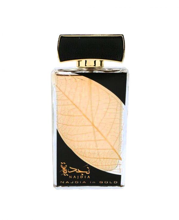 Najdia Gold Lattafa 3-arabian oud perfume, arabic oudh, best arabic perfume for ladies, arabian oud perfume uk, fragrance, best arabian oud fragrance lattafa uk
