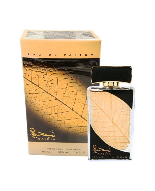 Najdia Gold Lattafa-arabian oud perfume, arabic oudh, best arabic perfume for ladies, arabian oud perfume uk, fragrance, best arabian oud fragrance lattafa uk