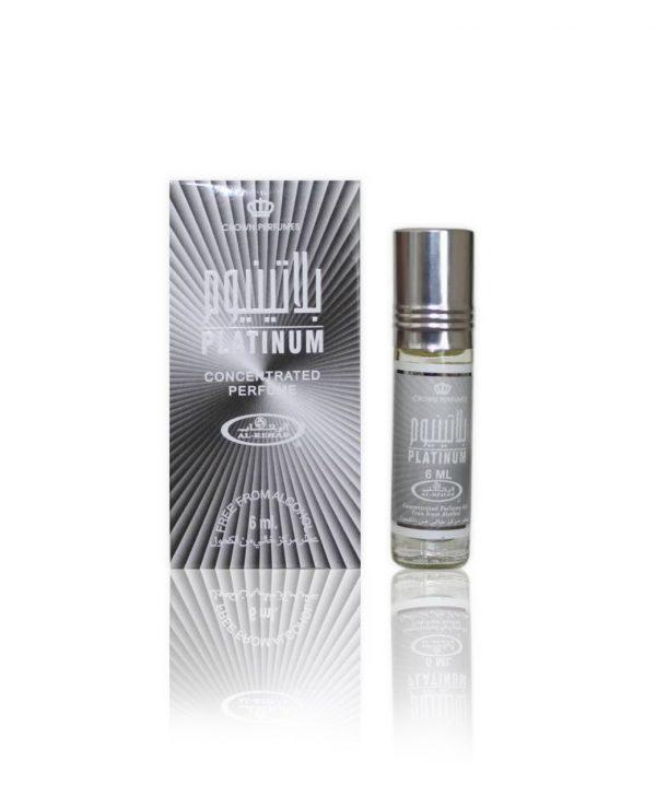 Platinum perfume oil 6ml roll on attar al rehab-al rehab concentrated perfume oil, best attar perfume oil, al-rehab crown roll on attar perfume oil, best arabic perfume oil