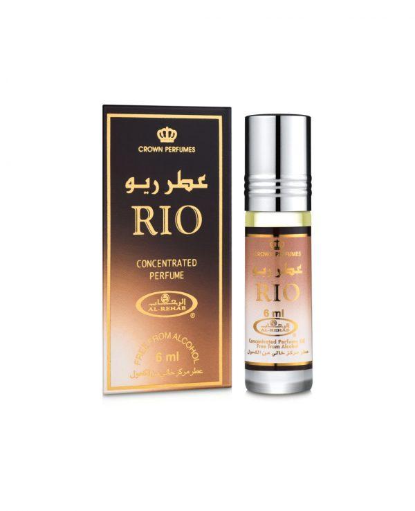 Rio perfume oil 6ml roll on attar al rehab-al rehab concentrated perfume oil, best attar perfume oil, al-rehab crown roll on attar perfume oil, best arabic perfume oil