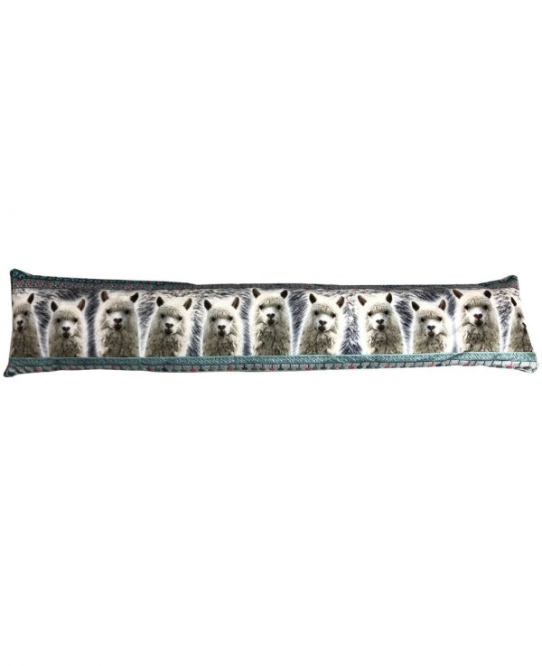 Soft Fabric Llama animal draught excluder- animal door draught excluder, funky draught excluders,draught excluder cushion