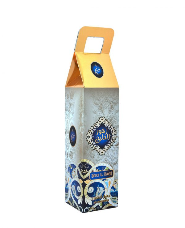 Zahoor Al Khaleej Water Based Room Spray -arabic room spray, arabian oud room spray, oud home spray, room spray formulation, islamic air freshener, arabian oud air freshener 4