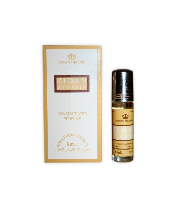 Zidan classic perfume oil 6ml roll on attar al rehab-al rehab concentrated perfume oil, best attar perfume oil, al-rehab crown roll on attar perfume oil, best arabic perfume oil
