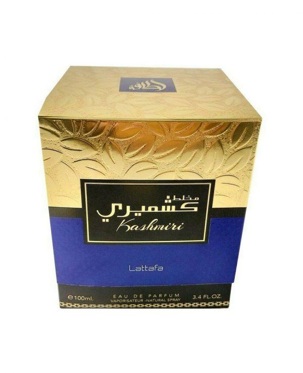 mukhallat Kashmiri Lattafa 3-arabian oud perfume, arabic oudh, best arabic perfume for ladies, arabian oud perfume uk, fragrance, best arabian oud fragrance lattafa uk