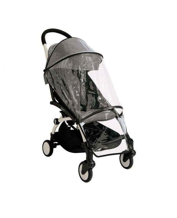 Babyzen YOYO 6+ pram raincover-universal buggy hood and raincover, rain cover for pram, rain cover babyzen yoyo 1