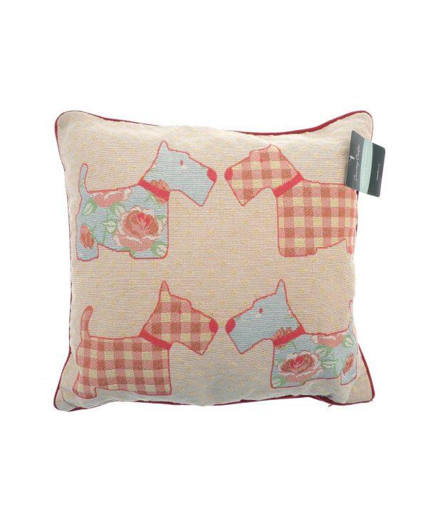 Cushion-animal tapestry cushion uk, dog tapestry cushion
