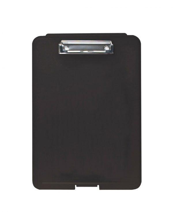 a4 clipboard storage box black-clipboard storage box, portable, box file