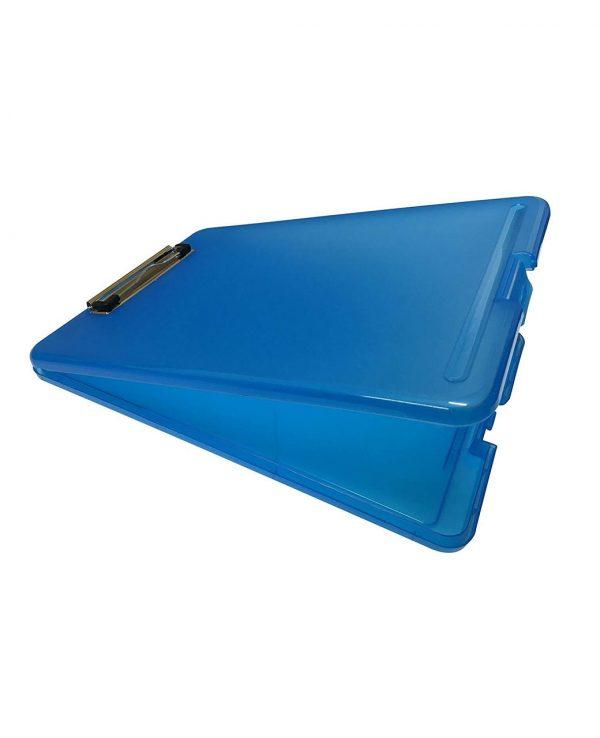 a4 clipboard storage box blueclipboard storage box, portable, box file