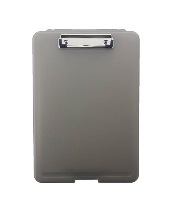 a4 clipboard storage box greyclipboard storage box, portable, box file