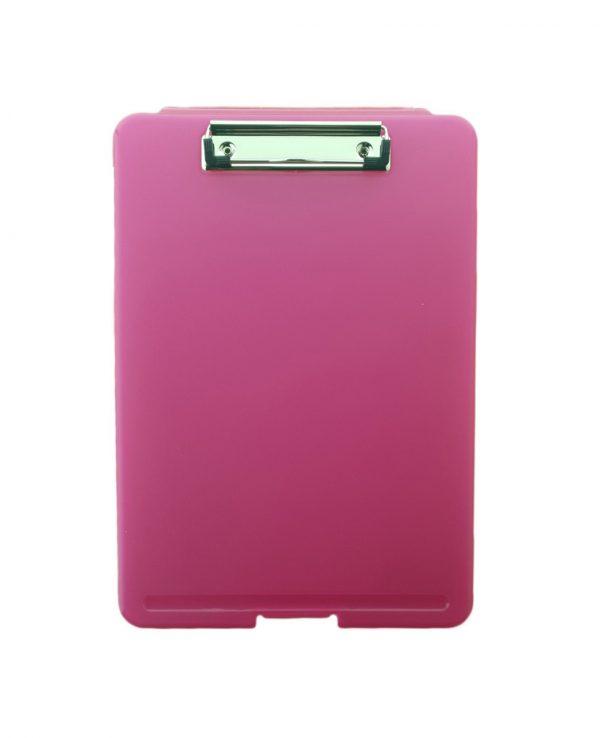 a4 clipboard storage box pinkclipboard storage box, portable, box file
