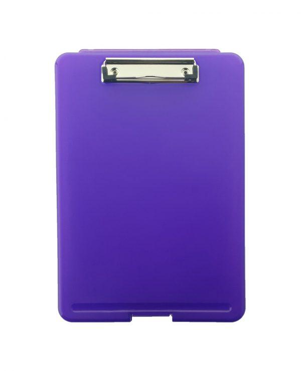 a4 clipboard storage box purpleclipboard storage box, portable, box file