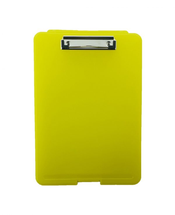 a4 clipboard storage box yellowclipboard storage box, portable, box file