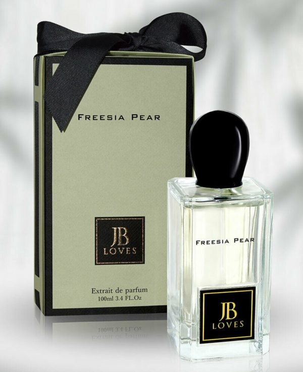 JB Loves Fragrances Freesia Pear 100ml by My Perfumes for women for men arabic perfume perfume spray perfume bottle