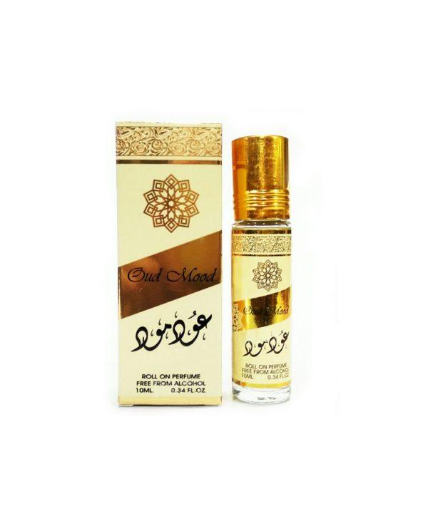 Oud Mood 10ml Perfume Parfum Oil Ard Al Zaafaran arabic arabian oud best perfume oil for ladies