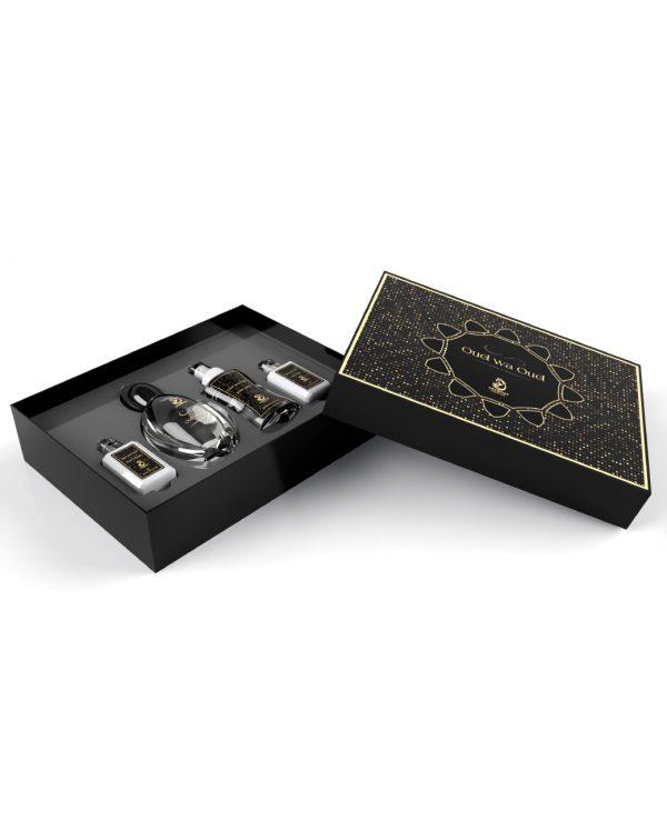 oud wa oud perfume gift set 100ml arabiyat by my perfumes for women for men arabic perfume perfume spray perfume bottle