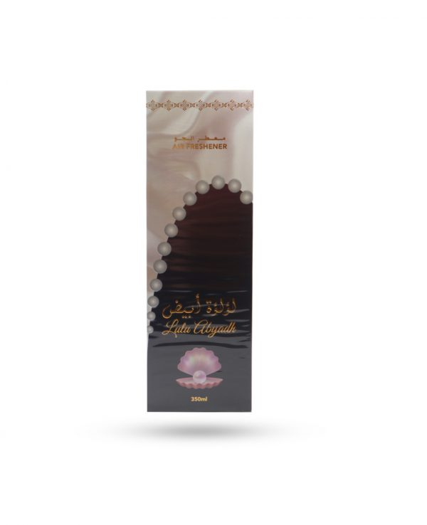Lulu Abyadh air freshener room spray ard al zaafaran Arabian Arabic 350ml perfume fragrance water spray fresh home