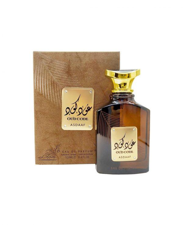 Asdaaf Oud Code 100ml By Lattafa for women for men arabic perfume perfume spray perfume bottle