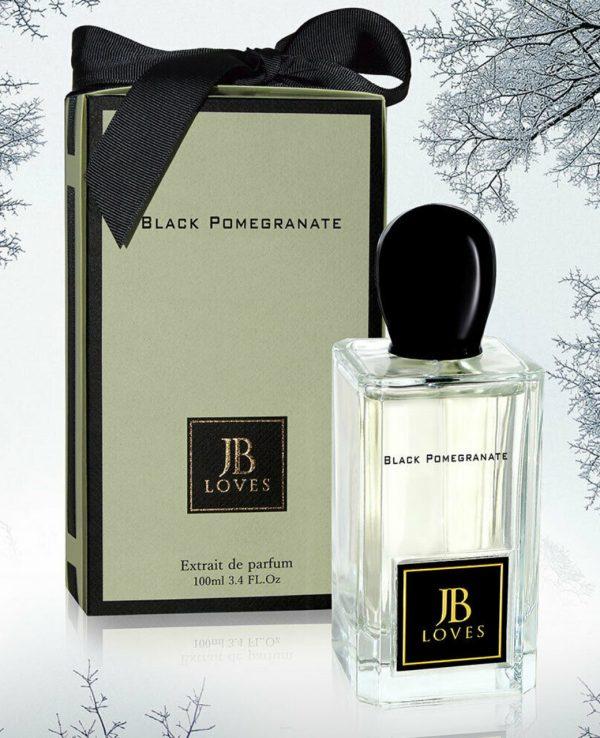 JB Loves Fragrances Black Pomegranate 100ml By My Perfumes for women for men arabic perfume perfume spray perfume bottle