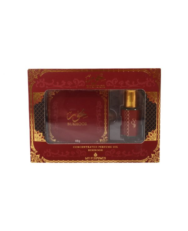 Bakhoor Incense Perfume oil Gift Set Concentrated By My Perfumes for home for room Bakhoor Incense Perfume Oil bottle