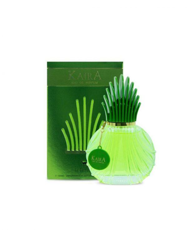 Kaira green perfume by my perfumes 100ml for women for men bottle spray arabic perfume