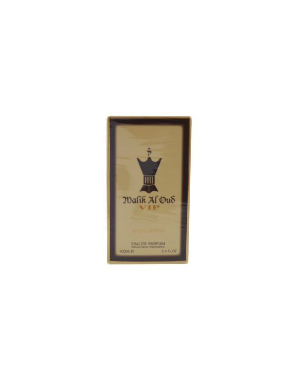 Malik Al Oud VIP Special edition 100ml by Ard Al Zaafaran Arabic Arabian Woody Amber Incense Floral Oriental Scent Unisex Women Men