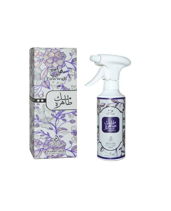 Musk Tahira Air freshener 350ml By My Perfumes for home for room arabic home spray